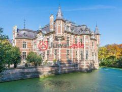 居外网在售比利时20卧15卫的房产总占地310000平方米