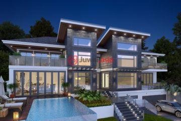 居外网在售加拿大西温哥华6卧9卫的房产总占地1394平方米CAD 12,800,000