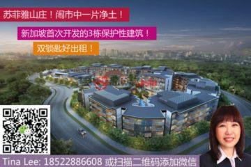 居外网在售新加坡1卧1卫新开发的房产总占地47平方米SGD 972,000