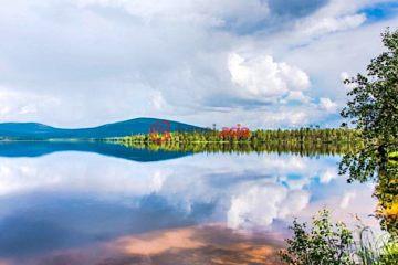 芬兰Kittilä总占地1987平方米的土地