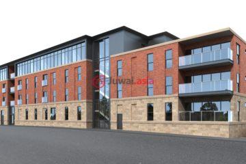 居外网在售英国1卧1卫的房产总占地533平方米GBP 124,995