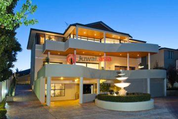 居外网在售澳大利亚珀斯5卧3卫的房产总占地1184平方米AUD 2,380,000