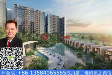 居外网在售新加坡1卧1卫新开发的房产总占地36811平方米SGD 578,000