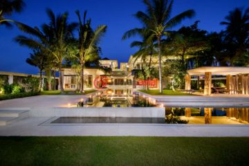 居外网在售印尼5卧5卫特别设计建筑的房产总占地3524平方米USD 4,950,000