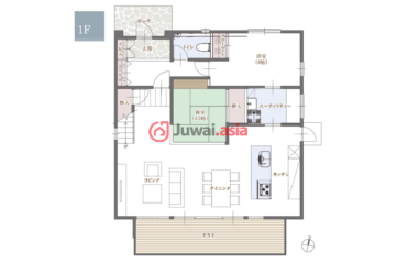 日本Itoshima-shi的新建房产,Shimakishi,编号40082251
