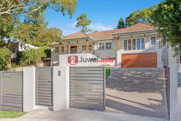 居外网在售澳大利亚5卧4卫特别设计建筑的房产总占地1088平方米