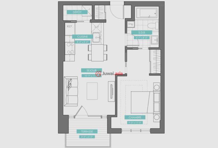 加拿大魁北克蒙特利尔的房产,编号25916089