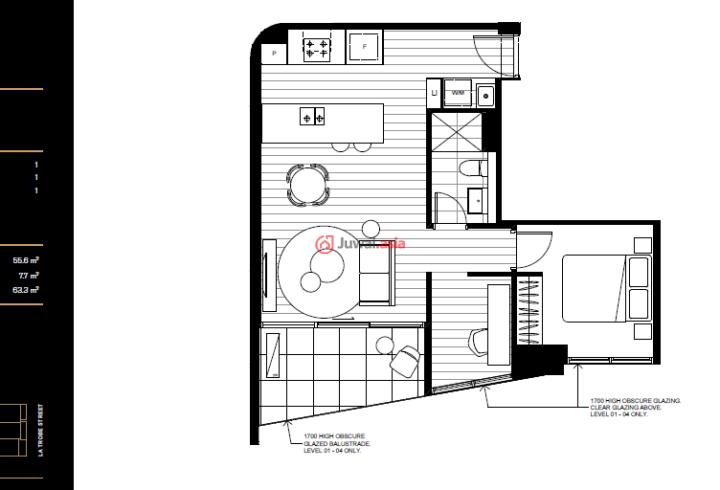 澳大利亚维多利亚州墨尔本的房产,141 La Trobe street,编号21717013