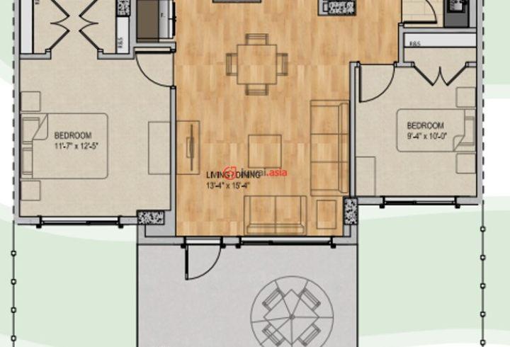 加拿大阿尔伯塔埃德蒙顿2卧2卫新开发的房产cad