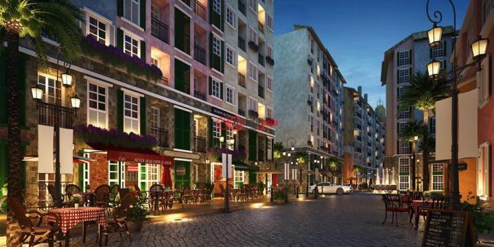 泰国商业街建筑设计