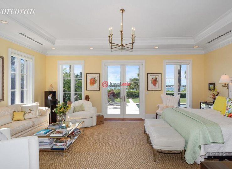 美国佛罗里达州棕榈滩的房产,1191 North Lake Way,编号37321902