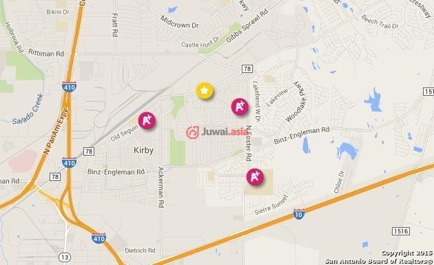 美国德克萨斯州圣安东尼奥3卧2卫的房产图片