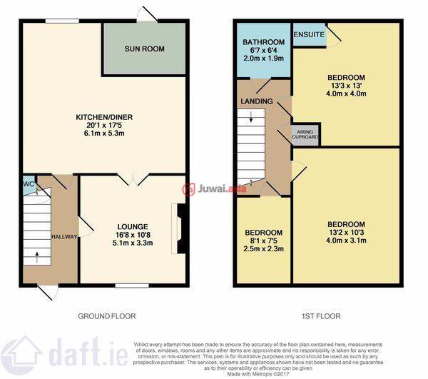爱尔兰的房产,2 Castlemeadows Skehard Road,编号36963880